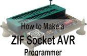 Programador universal para de AVR y S51 y ZIF socket!