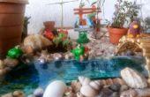 Patio jardín miniatura