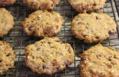 Gluten Free Peanut Butter Chocolate Chip galletas de avena