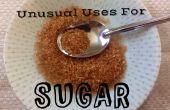Aplicaciones inusuales de azúcar