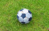 Fútbol balón de fútbol casero