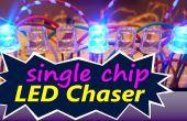 LED Chaser (circuito de chip único)