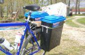 Bicicleta Pannier cajas a prueba de agua