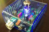 Cortador del Laser del uso de caja de acrílico y calentador de tira