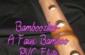 Engañado-A imitación bambú PVC flauta