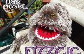 Dark cristal Fizzgig inspirado marioneta