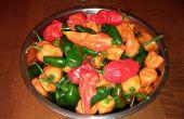Conservación de la pimienta caliente