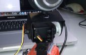 Control remoto de webcam usando Arduino, SensorMonkey, jQuery y Justin.tv