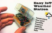 Estación meteorológica de fácil IoT con múltiples sensores