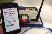 LED remoto controlado mediante Internet y teléfono móvil