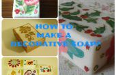 Cómo hacer jabones decorativos (decoupage)