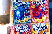 BRICOLAJE colores Kool-Aid Jammers almuerzo saco artesanal (aprende a coser proyecto)