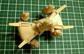 Mini Gunstar Popsicle Stick modelo
