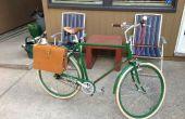 Alforja bicicleta de vieja cartera