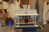Medida mesa de fresadora