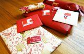 Hacer sus propias etiquetas de regalo