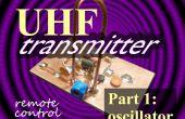 Control remoto de frecuencia ultraelevada transmisor