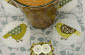 Smoothy de plátano de baya de goji chocolate crudo