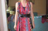 Cómo hacer un vestido de cuello lazos
