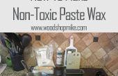 Cómo hacer cera en pasta no tóxico