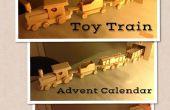 Calendario de Adviento de tren de juguete