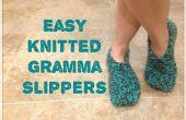 Fácil punto Gramma zapatillas