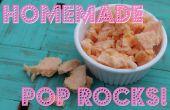 Dulces caseros rocas Pop efervescente!!!!!!