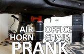 Broma de la silla de aire cuerno oficina