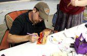 Cómo a crear pinturas al óleo en bloques de madera