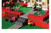 Hacer tarjeta del día de padre Diorama Lego