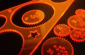 Diseño de un juguete de espirógrafo-como corte laser