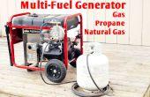 Generador de combustible Multi - Gas propano NG
