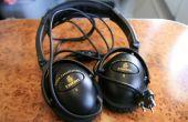 Hackear una línea aérea ruido cancelación auriculares para uso con PC