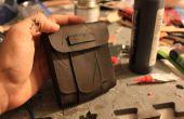 Tutorial de bolsa y saborear el trabajo básico de cuero de cuero