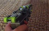 ¿Pistola de láser verde neón Lego