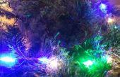 Reactivos vacaciones Navidad LED luces de sonido