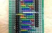 9-Charlieplexor (9-pines para 72 LEDs)