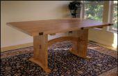 Mesa de comedor con extensiones laterales