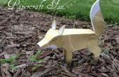 DIY Papercraft Fox