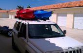 Coches Top - 2 estante de Kayak (sólo coches portaequipajes) cerca de 30 dólares...