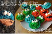 Cupcakes DIY Sesame Street