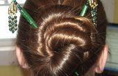 Peinados para el cabello palillos