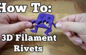 Cómo hacer 3D filamento remaches