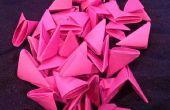 Piezas de Origami 3D