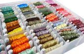 Organizar tarjetas Ribbon cinta con DIY