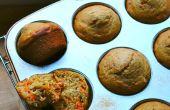 Receta de muffin de zanahoria