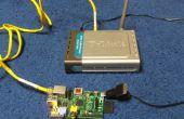 La comunicación del robot a través de ethernet inalámbrica