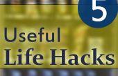 5 vida útil Hacks
