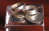 Hacer un anillo de plata de 25 centavos de dólar