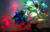 Encantadoras flores LED